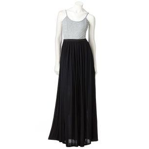 LC Conrad Color Block Maxi Dress