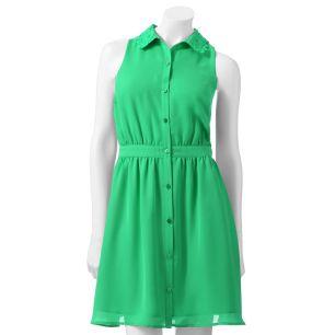 LC Shirtdress --Jellybean