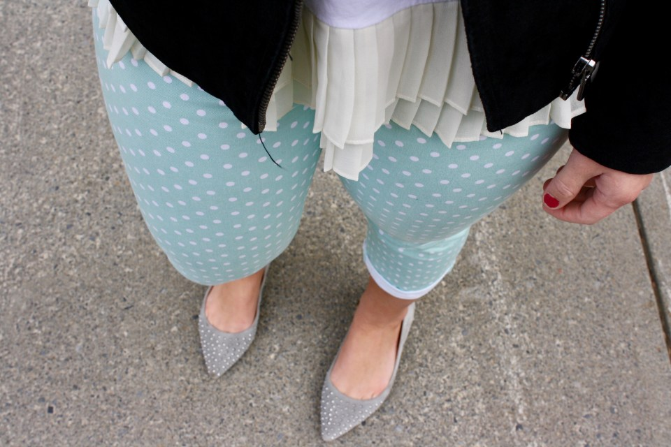 Pleats, polka-dots, and pastels