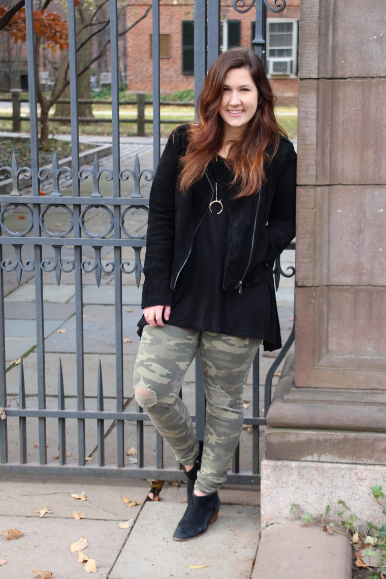 How to Style Camouflage Pants