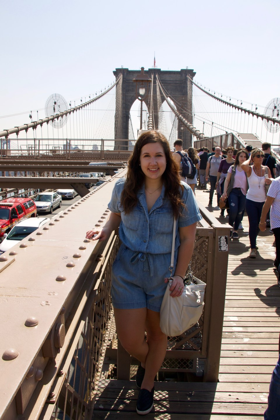 Brooklyn Bridge Romper- Current Elliot