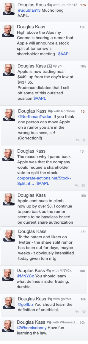 A day in the Twitter life of hedge fund manager Doug Kass