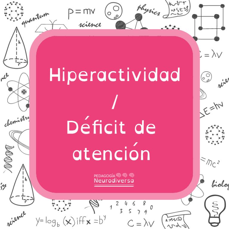 hiperactividad y défict de atención