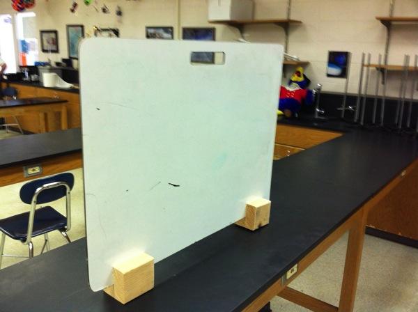 whiteboard holder