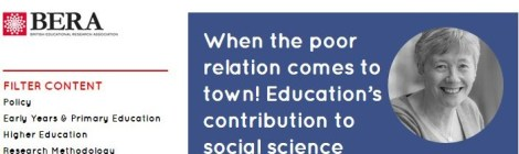 BERA blog: Education's contribution to social science research methods