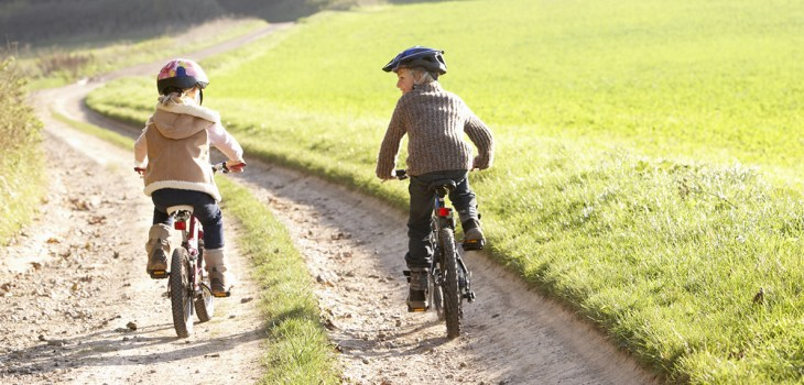 The long-tern benefits of riding a bicycle
