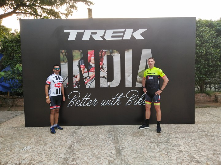 RIDE WITH JENS VOIGT AT THE TREK CYCLING CAMP