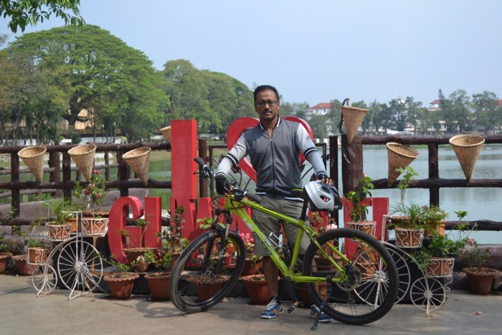 PEDALING FOR CHANGE