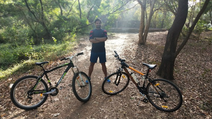 CYCLING IN AAREY