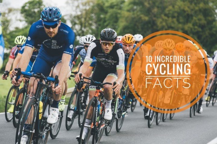 INCREDIBLE FACTS ABOUT CYCLING!