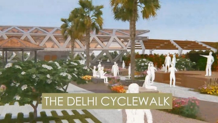 200 KM CYCLE WALK PLAN ANNOUNCED FOR DELHI