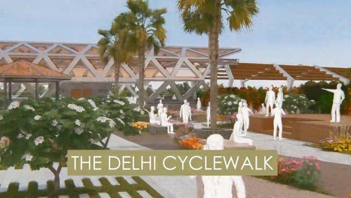 200 KM CYCLE WALK PLAN ANNOUNCED FOR DELHI