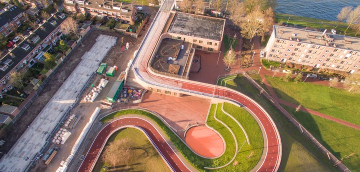 Dafne Schippers Bridge, Next Architects_Rudy Uytenhaak+partners architecten_Bureau B+B Urbanism and Landscape Architectue _ Arup