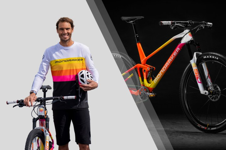 MONDRAKER BUILTS A CUSTOMIZED BICYCLE FOR RAFAEL NADAL