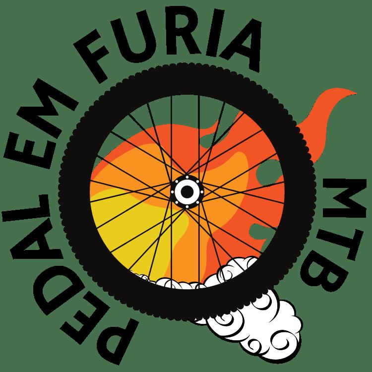 Logotipo Pedal em Furia