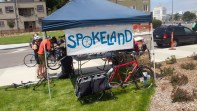 Spokeland was out teaching people how to wrench all day!