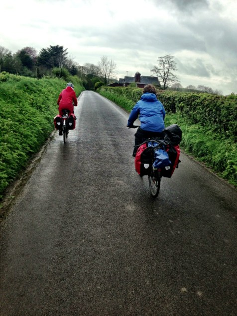 Up a hill in the rain, tour 3