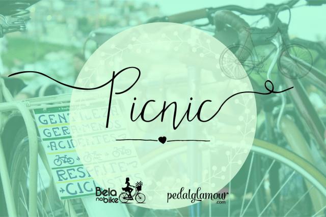 Foi incrível: picnic Bela na Bike + Pedal Glamour!