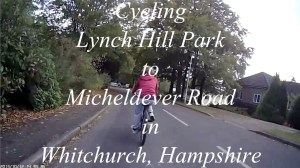 2013-10-12 Cycling Lynch Hill Park to Micheldever (and back) in Whitchurch, Hampshire