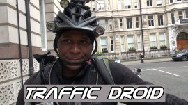 2014-05-17 Interview Traffic Droid during Space for Cycling Big Ride London - thumbnail