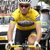 Thor Hushovd (Nor) Garmin-Cervelo – one goal protect the yellow jersey… [P] Slipstream Sports