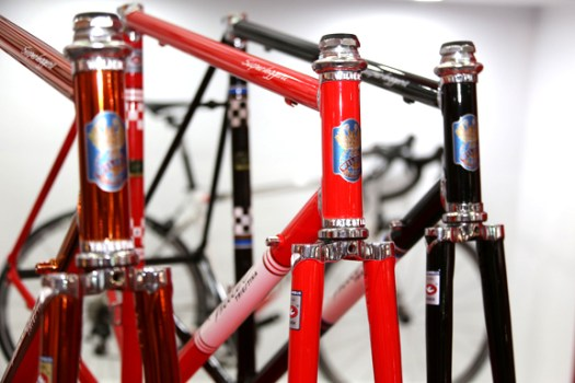 Steel Wilier bikes with nice lugs [P] Chris Redden