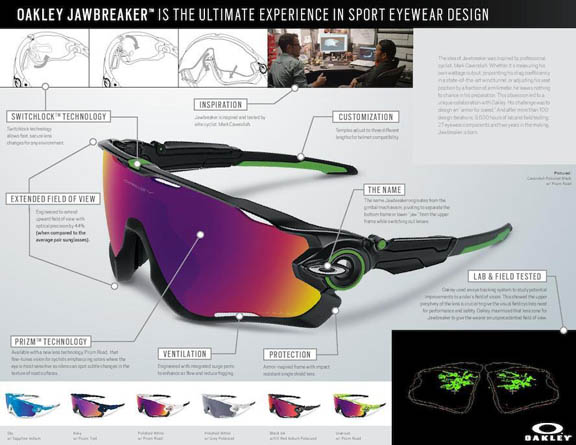 a4f006f26d Oakley Jawbreaker Sunglasses Launched in Collaboration with Mark ...