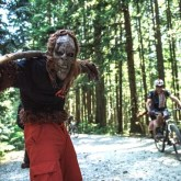 Ryder's Sasquatch on trail and keeping riders on their toes. [P] BCBR