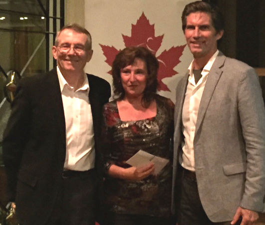 Lapensee recognized for her 15 years with Cycling Canada [P] pedalmag.com