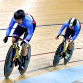 UCI Track Cycling World Cup II 2015-16 – Cambridge, New Zealand Day 1