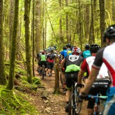 Jack's Trail with 1,200 riders… Traffic Jam anyone?