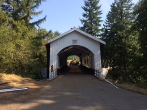 One of the five covered bridges on my ride