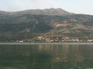 The mountains around Ioannina