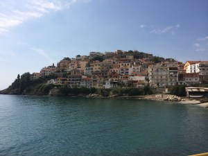 Looking back on Kavala as I leave town