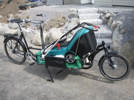 Wie gemacht für den Rasenmäher-Transport: LONG HARRY TRANSPORTRAD