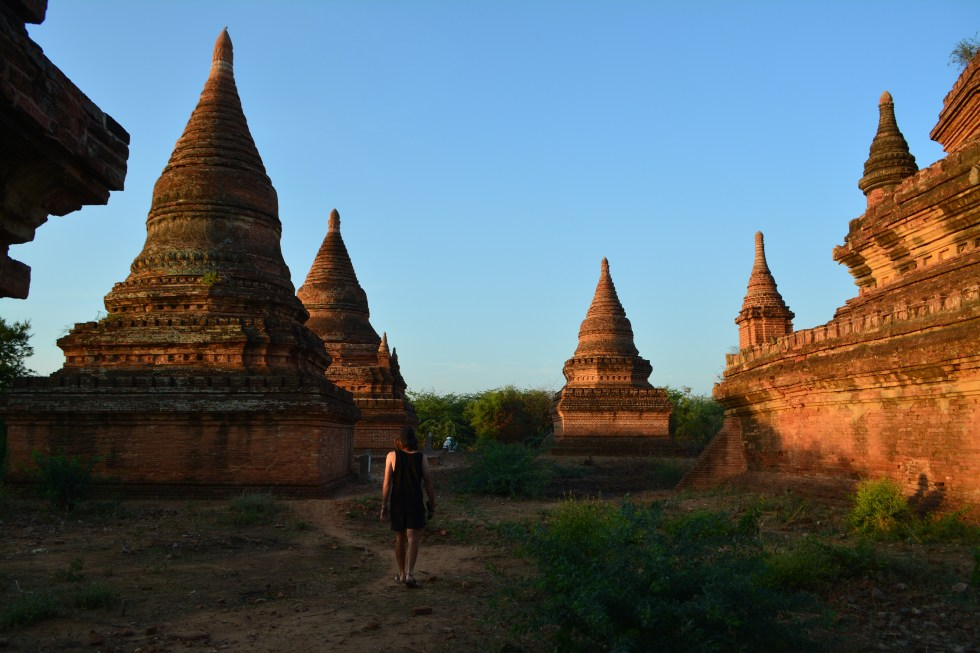 Bicycle touring Myanmar bagan