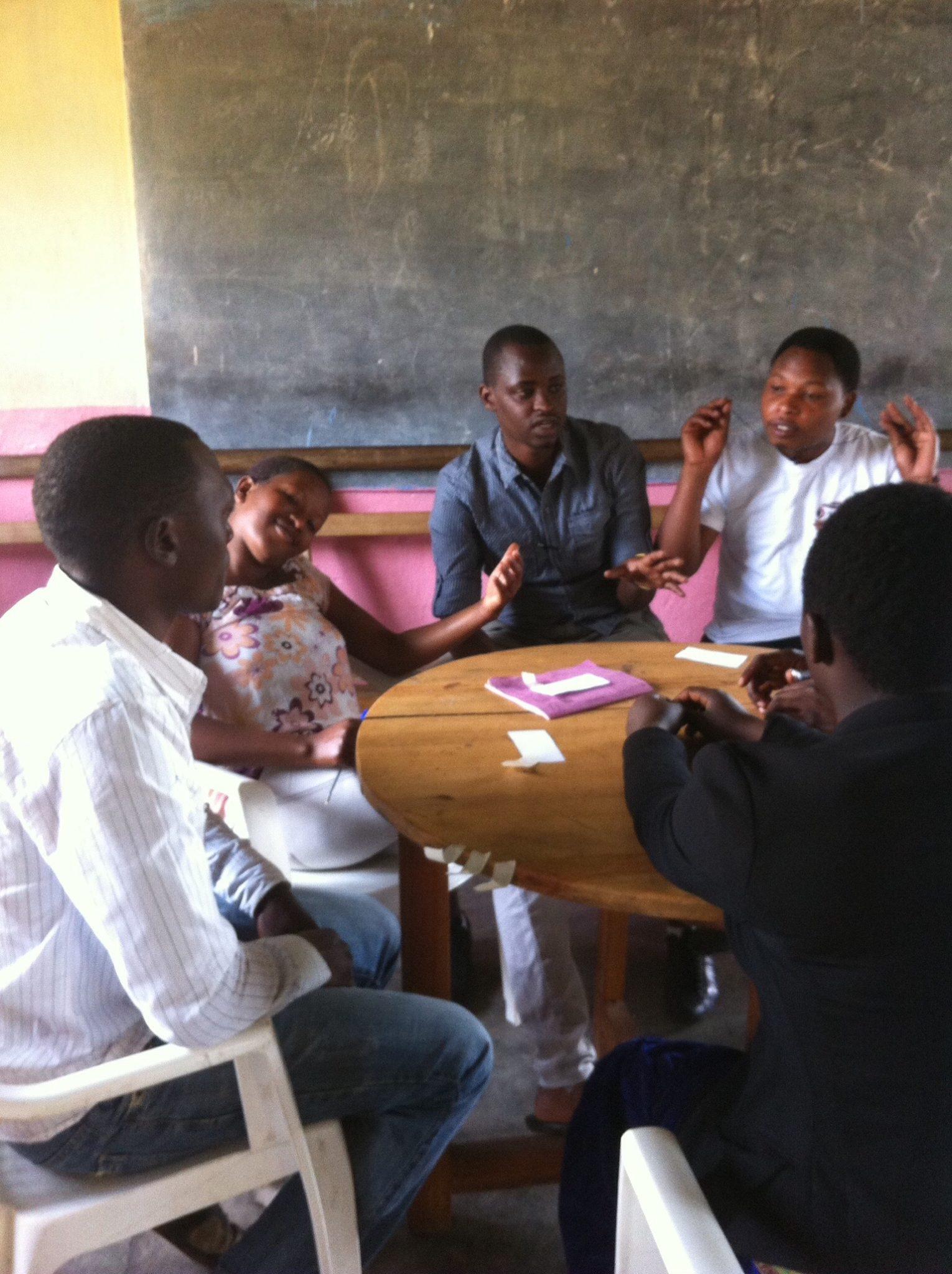 Hirwa at HIPP Musanze