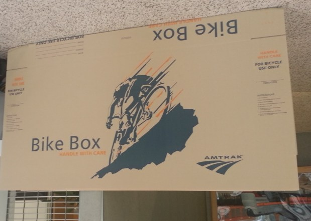 amtrak bike box