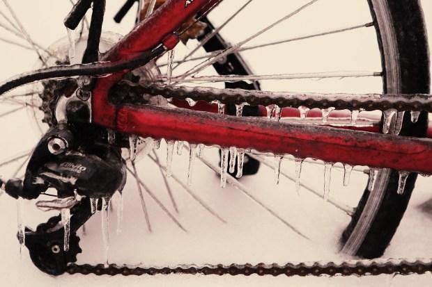 Winter touring bike maintenance
