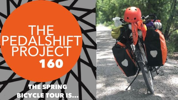 Pedalshift 160 spring bicycle tour