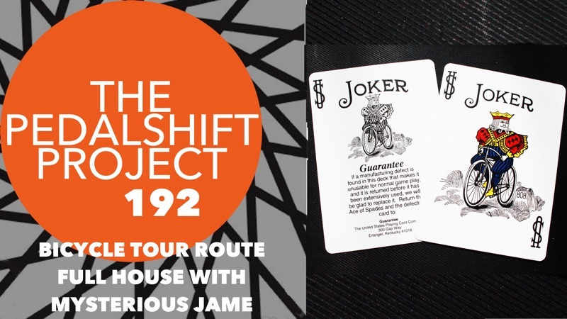 Pedalshift 192: Bicycle Tour Full House with MJ