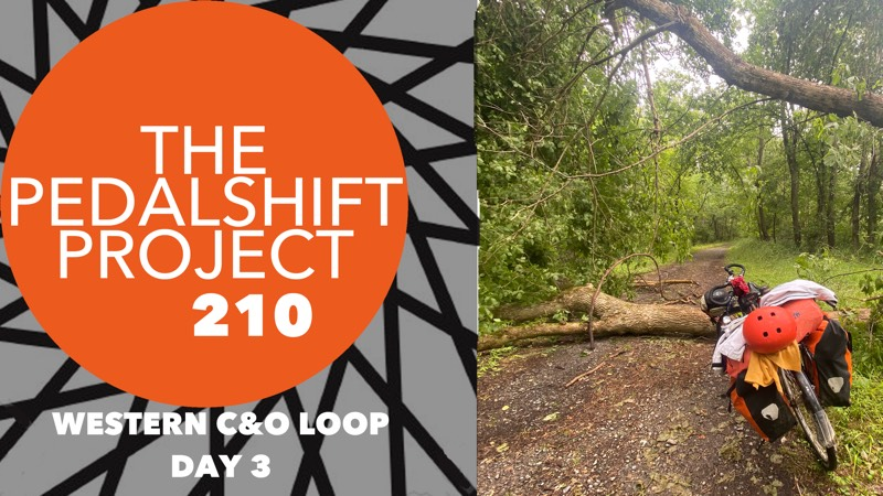 The Pedalshift Project 210: Western C&O Loop, Day 3