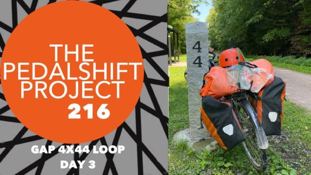 The Pedalshift Project 216: GAP 4x44 Loop - Day 3