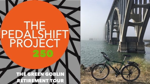 The Pedalshift Project 250: The Green Goblin Retirement Tour