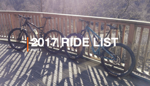 The 2017 Ride List (Part 1)