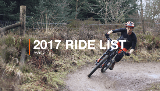 The 2017 Ride List (Part 2)