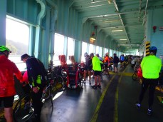 Finding a parking spot among 85 bikes is no easy task.