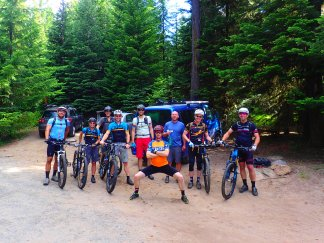 The Mt. Hood Endurance Classic group.