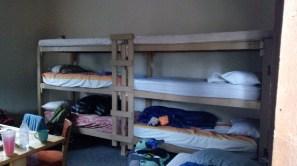 Top bunk!