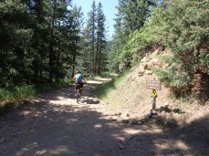 The first bit of singletrack.